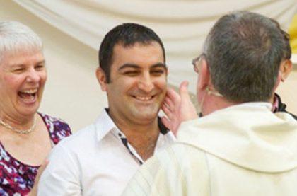 Alex Baptism