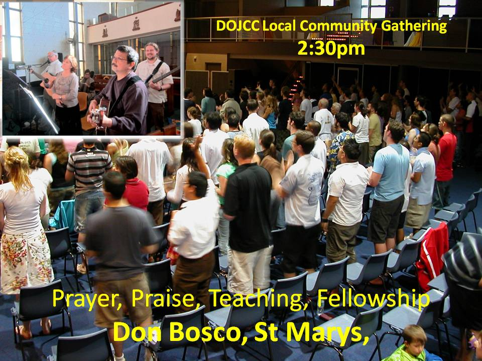 Disciples of Jesus Sunday Gathering