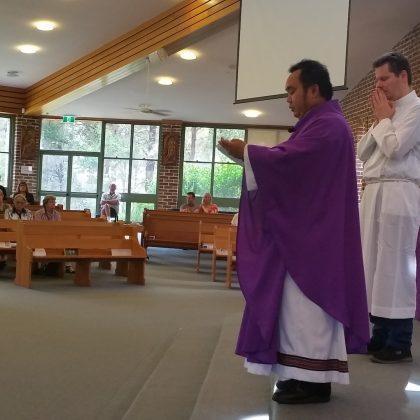 RCIA 2018 Fr Flor