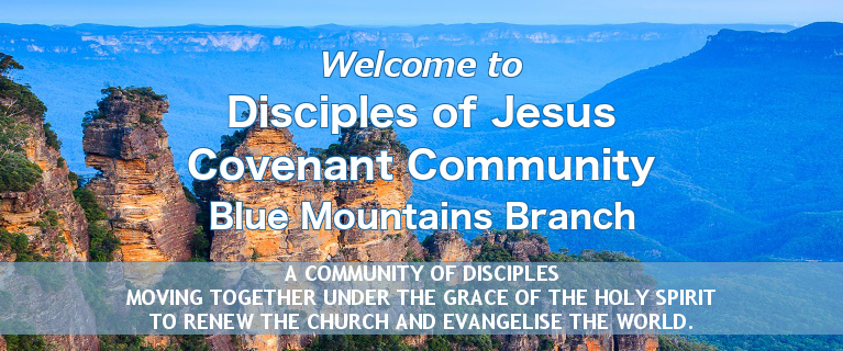 Welcome to Disciples of Jesus Blue Mountains